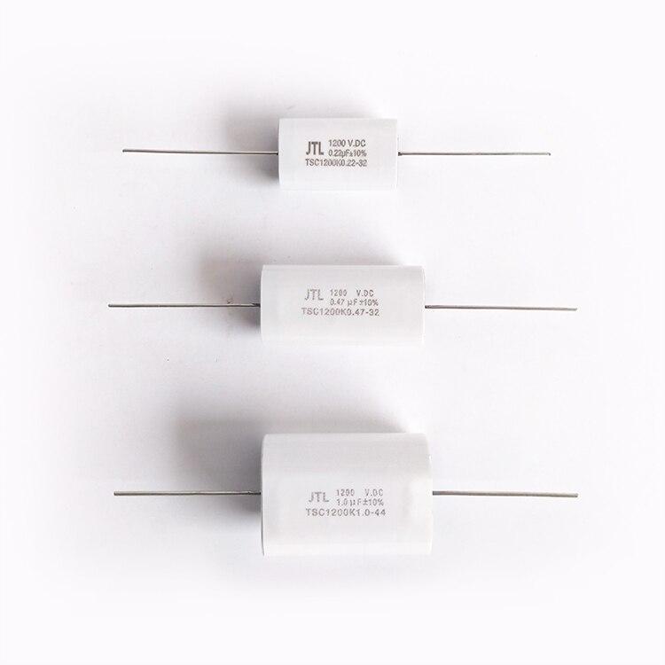 New 1200V0.22UF / 0.47UF / 1.0UF / 2.0UF non-inductive IGBT absorption capacitor high voltage non-polar