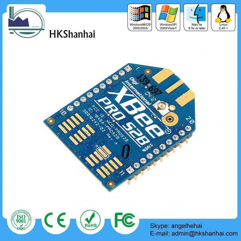 Nuevos productos 2015 alta calidad sensor zigbee/zigbee módulo XBee 2mW cable Antenna-Serie 2(ZigBee Mesh)