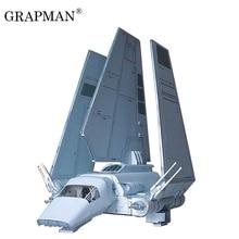 22cm de haut Star Wars Empire Lammda navette avion 3DPaper modèle fait main avion Papercraft jouet