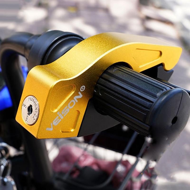Motorcycle Anti Theft Padlock Security Safety Lock Handlebar Brake Throttle lock for Bike Scooter Moto