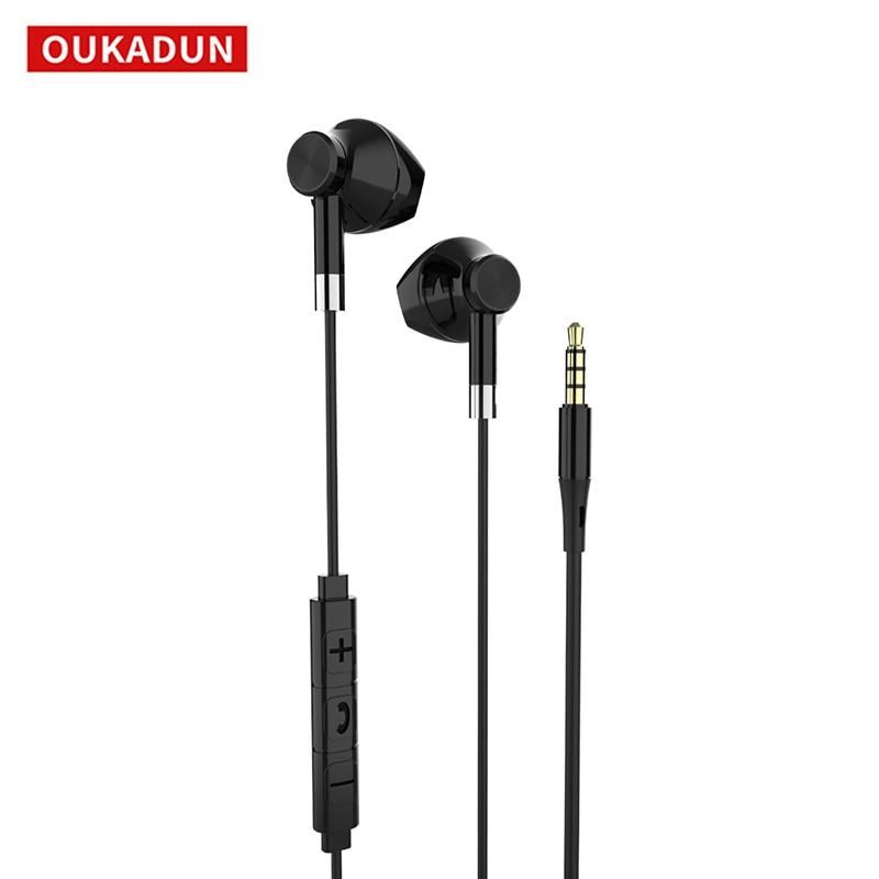 Wired 3.5Mm Koptelefoon, Muziek Headset Met Microfoon