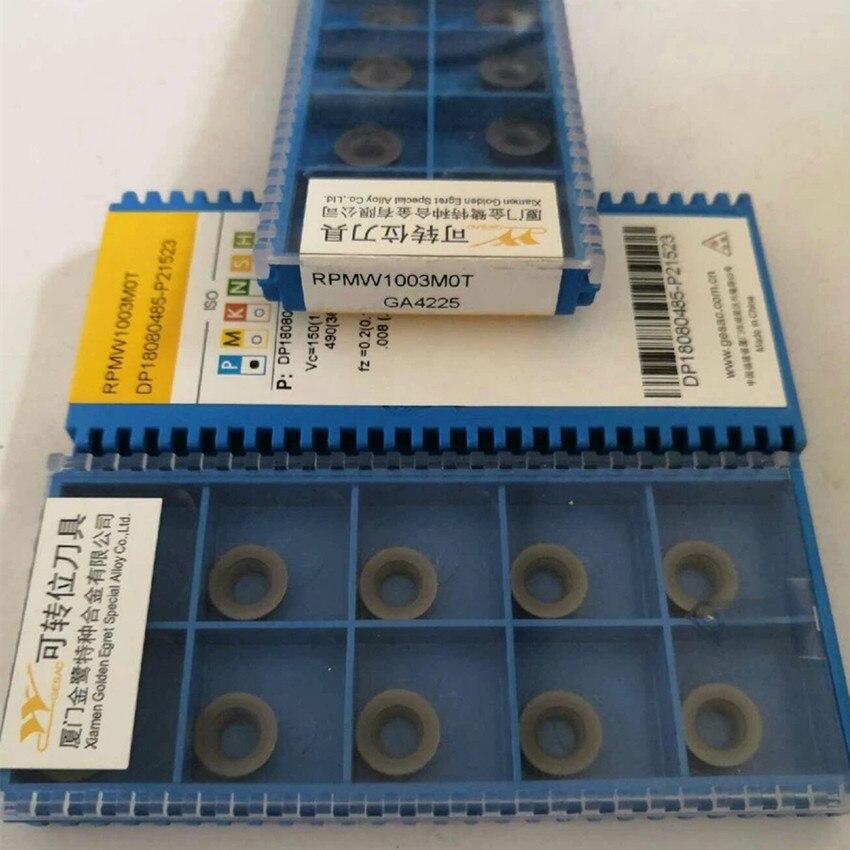 RPMW1003MOT/RPMT1003M0T-GM/RDEW1003MO/RDMT10T3MO-GM/RPMW1003MOT/RPMT1003MOT-GM/RDEW10T3MOT GA4225 GA4230 CNC carbide inserts