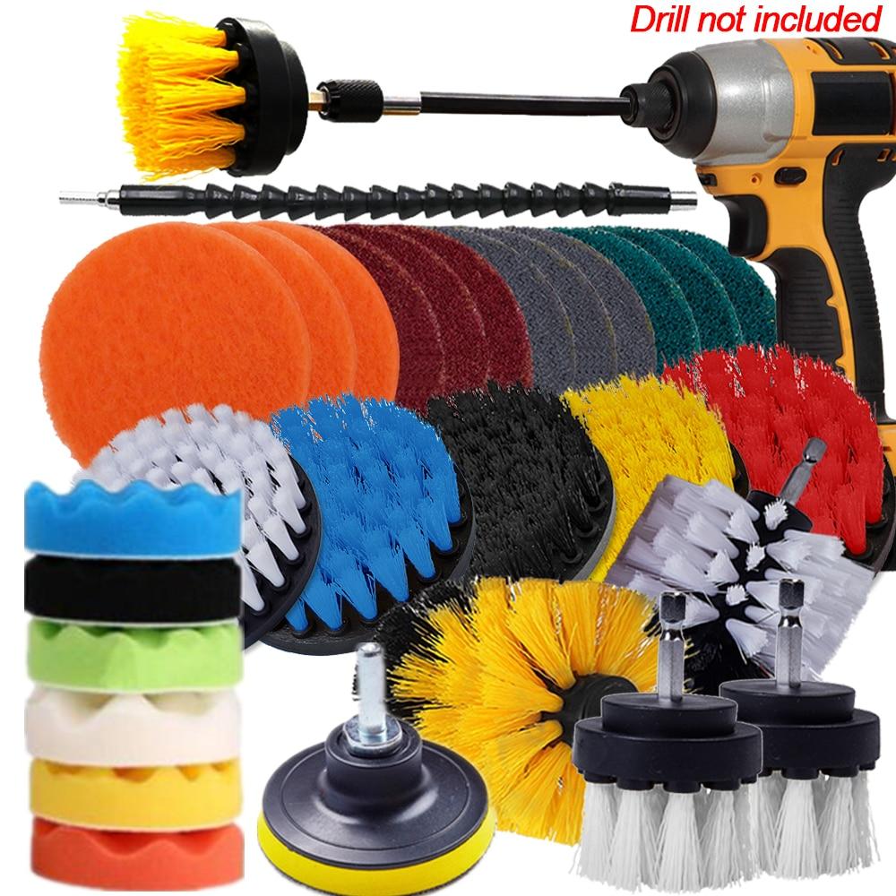 2, 3,5, 4, 5 palcový čistič kartáčů na čištění kartáčů na povrch koupelny spárovací dlaždice vana sprcha kuchyňské auto čisticí nástroje