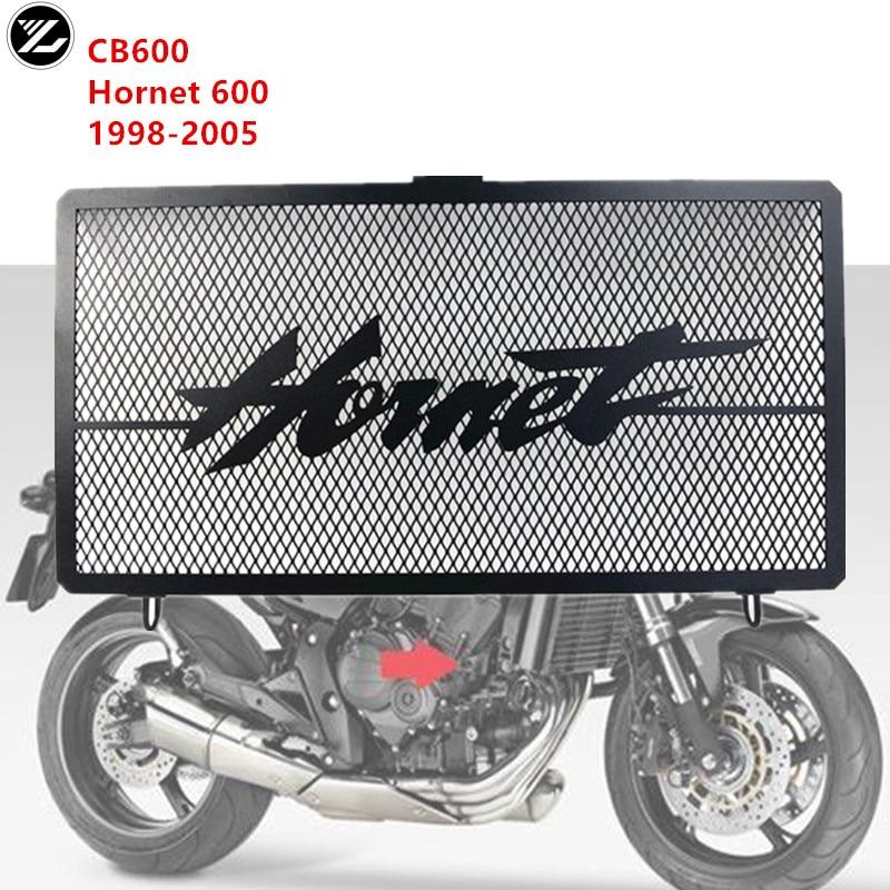 دراجة نارية مصبغة المبرد غطاء حماية حامي المبرد نظام حماية صافي لهوندا CB600F الدبور 600 1998-2005 1999