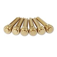 6pcs Pure Copper Acoustic Guitar Bridge Pins String Nail Pins Chord Cone