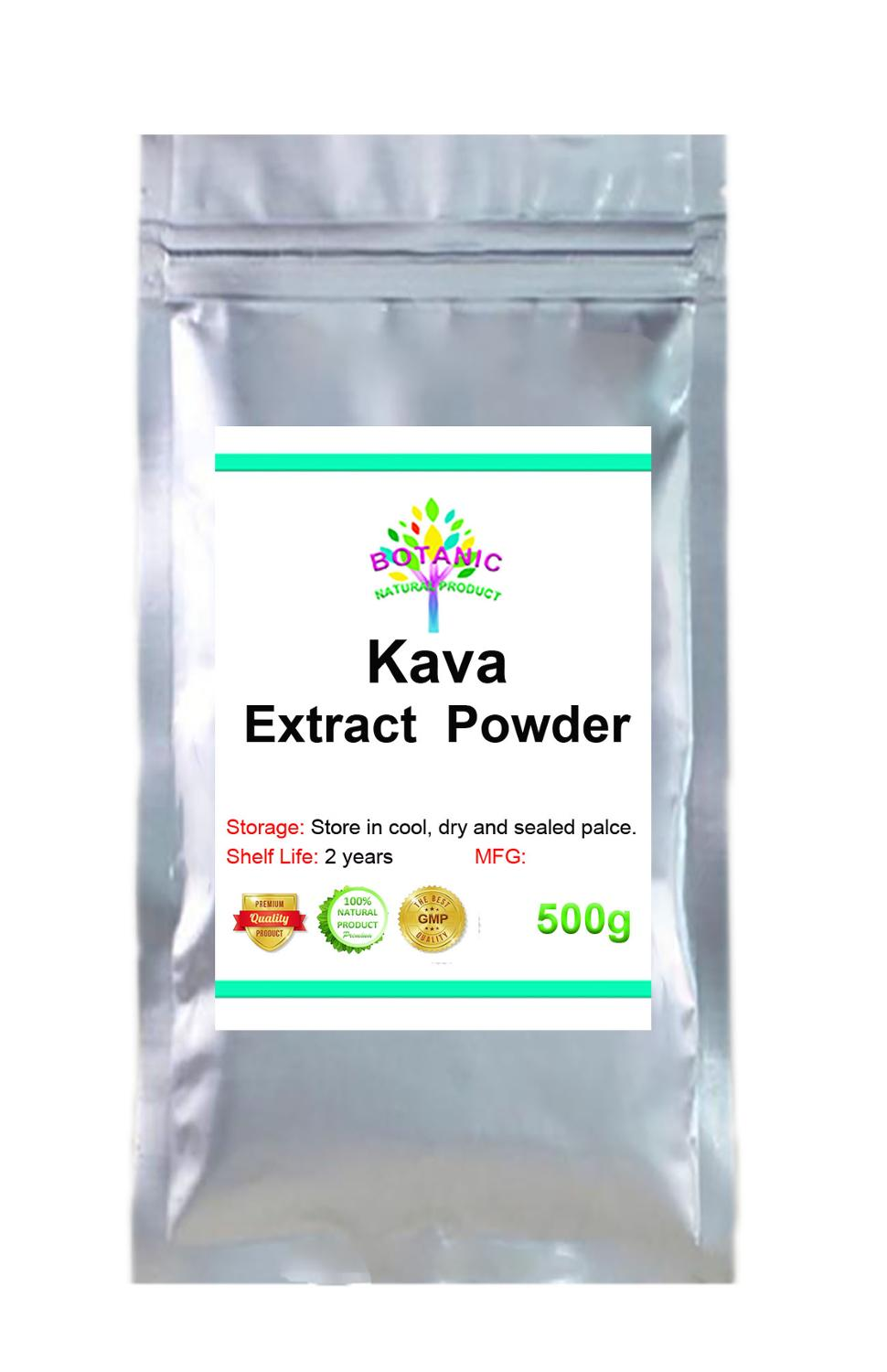 Kava Extract 99% Powder,Kava-kava,Stress Relief and Anxiety Supplement,Mental Calmness Positive Mood,Piper Methysticum Forst