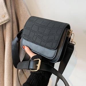 Vintage Small Bag 2021 New Trendy Fashion Messenger Bag Texture Versatile Small Square Bag Purses and Handbags Luxury Designer