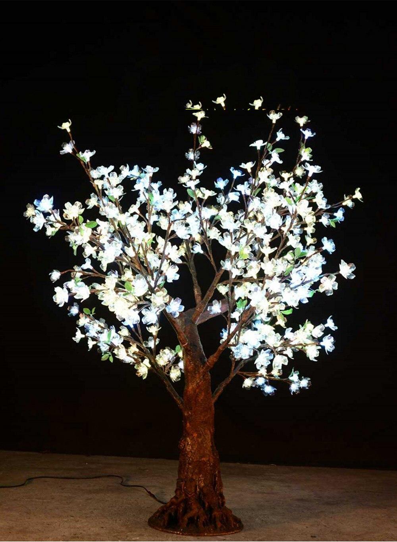 Outdoor RGB color LED Cherry Blossom Christmas Tree lamp 1.5M 432 led bulds Xmas tree Light for Garden Landscape Festival Decor
