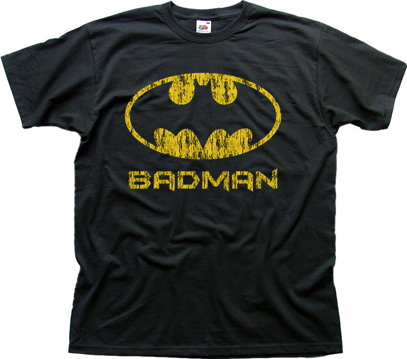 Batman Badman Joker Bane Gotham ciudad estampada T camisa 9970