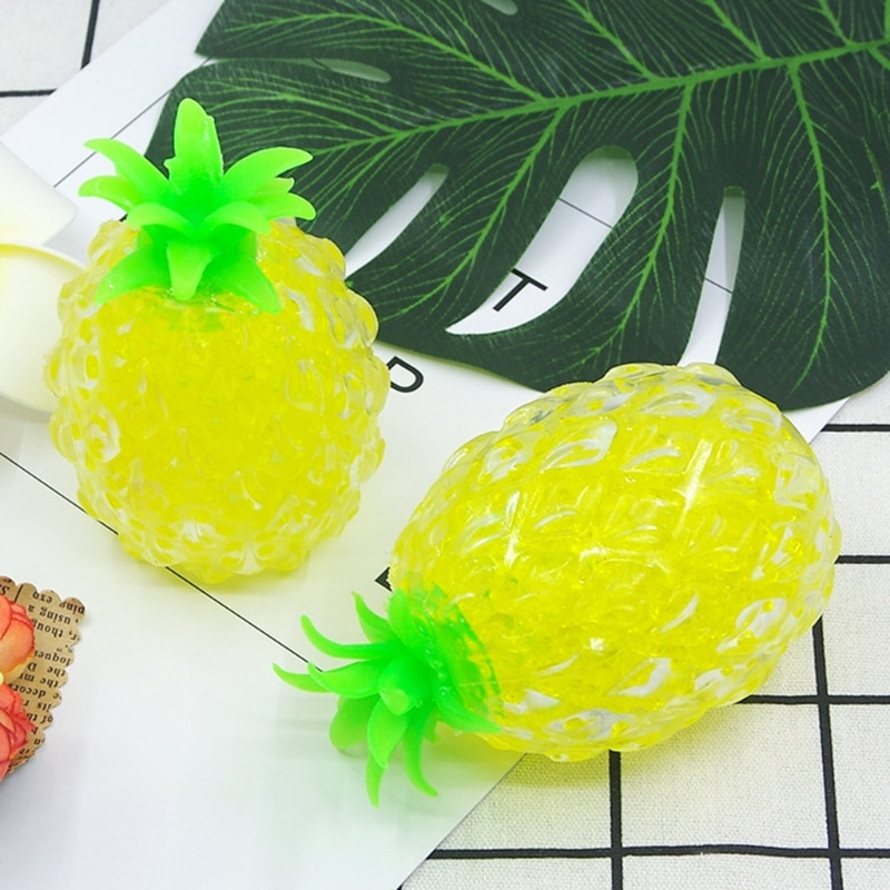 Squeeze Pineapple Ball Stress Relief Sensory Fidget Toys Reducing Pressure Toys 87HD enlarge