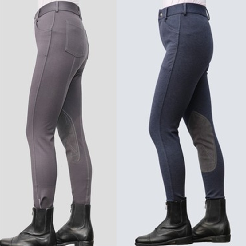 Horse Riding Pants Women Men Child Girls Equestrian Breeches Profession Equestrian Horse Rider Clothes Trousers Horseback Pants