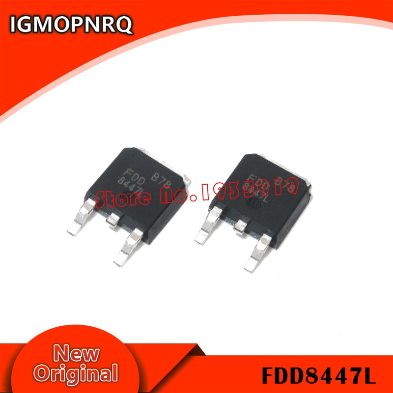 10 Uds FDD8447L-252 FDD8447 TO252 8447 SMD nuevo