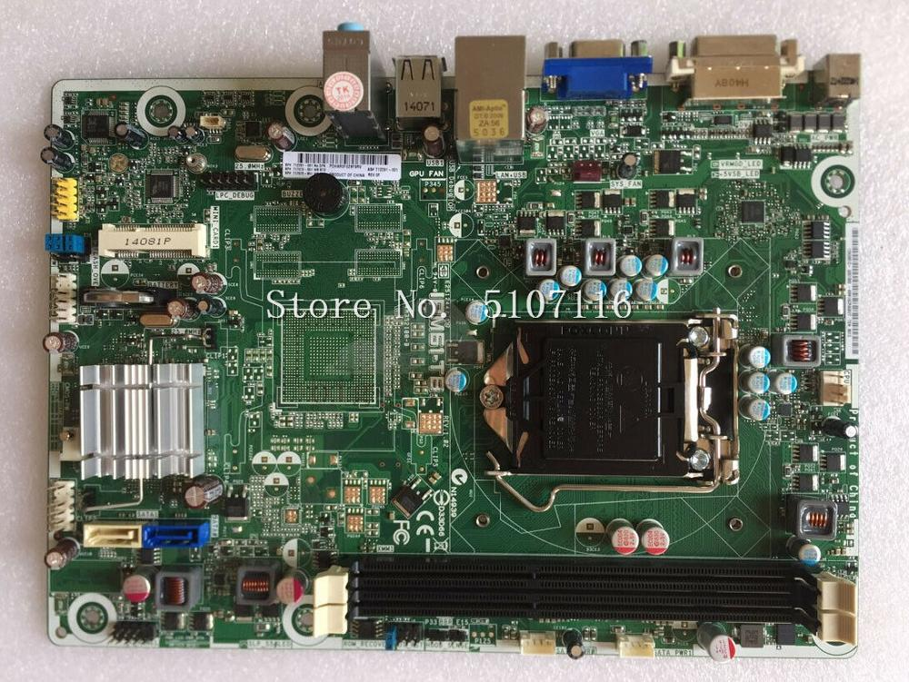 De alta calidad de escritorio placa base para IPM61-TB H61 1155 712291-001 se prueba antes del envío
