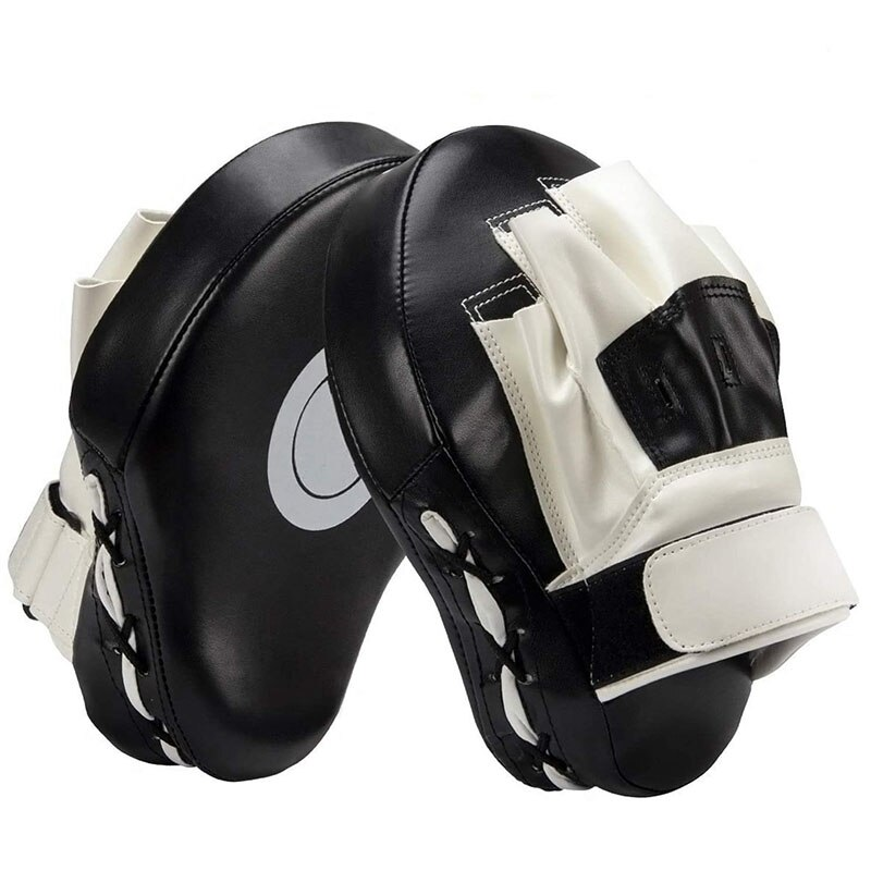1pc curvo saco de boxe equipamento boxe foco sacos de boxe para taekwondo muay thai karate adultos crianças treinamento do plutônio patas almofadas