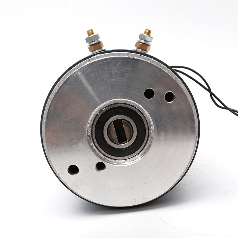 Factory Direct Sales 12V 2.0KW, 24v2.8kw DC Motor Power Unit Motor Copper Wire Movement The Brush DC Motor Electrical 12v, 24v . enlarge