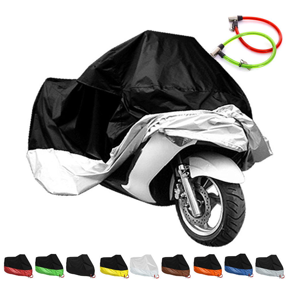Cubierta de Mororcycle impermeable protector solar cubierta de bicicleta de Interior para carpa moto varadero 125 yamaha vino honda sh 125