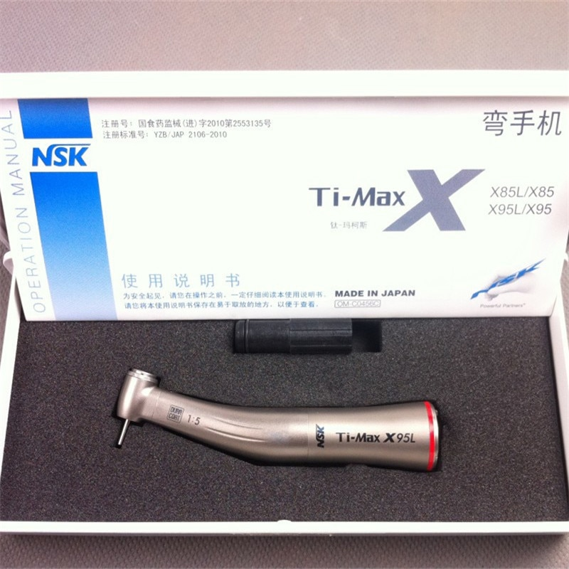 NSK نوع الأسنان تي ماكس X95L قبضة الألياف البصرية 1:5 سرعة زيادة كواترو رذاذ