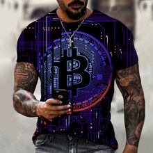 2021แฟชั่นฤดูร้อนผู้ชาย Cryptocurrency B Bitcoin BTC เสื้อยืด Cryptocurrency Blockchain คริสต์มาสเสื้อยืดขนาด XXS-6XL