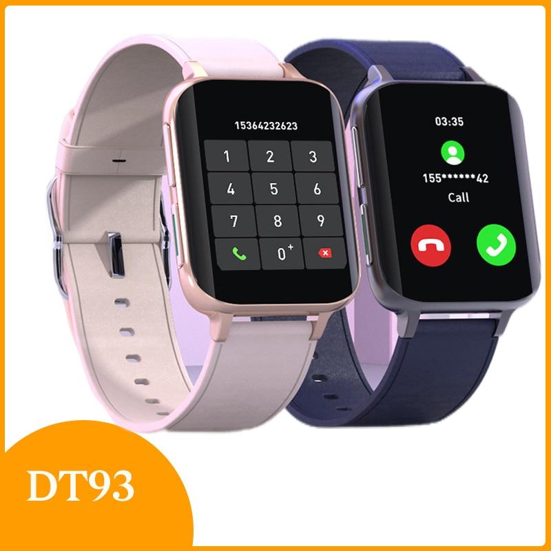 جديد شاومي Youpin Mi ساعة ذكية بلوتوث دعوة الرجال النساء مقاوم للماء Smartwatch رصد معدل ضربات القلب مشغل MP3 لهواوي الشرف