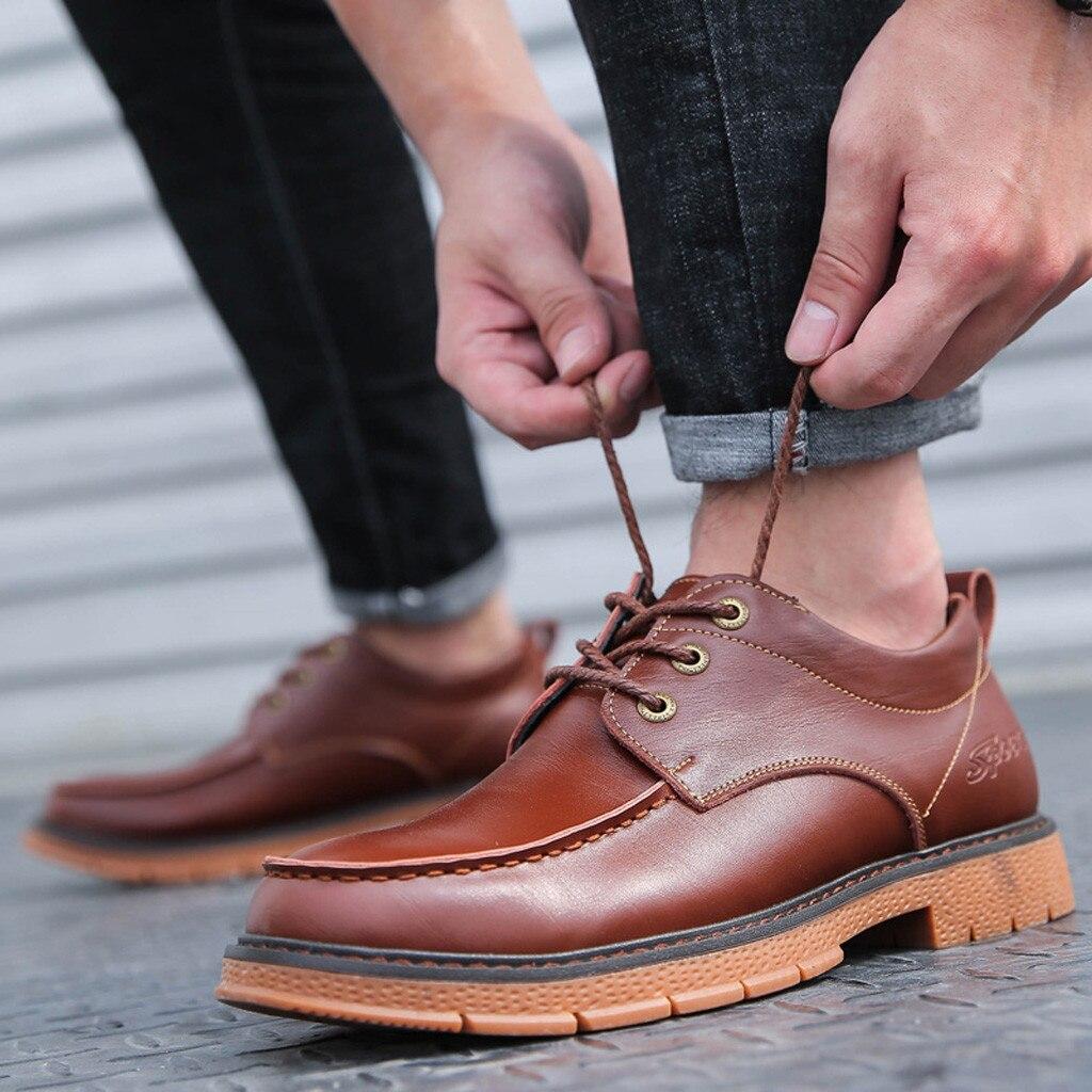 Sapatos masculinos moda couro pu casamento negócio apontou oxfords casual formal chaussure homme zapatos de hombre 8.5