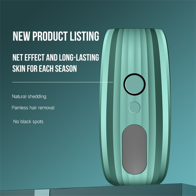 Laser Hair Epilator for Women Photoepilator Home Use Devices Permanent Hair Removal Pulsed Light Mac