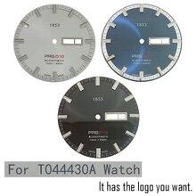 35mm montre cadran aiguilles pour T044430A mâle PRS516 montre mécanique littérale montre accessoires pour ETA 2836-2 mouvement
