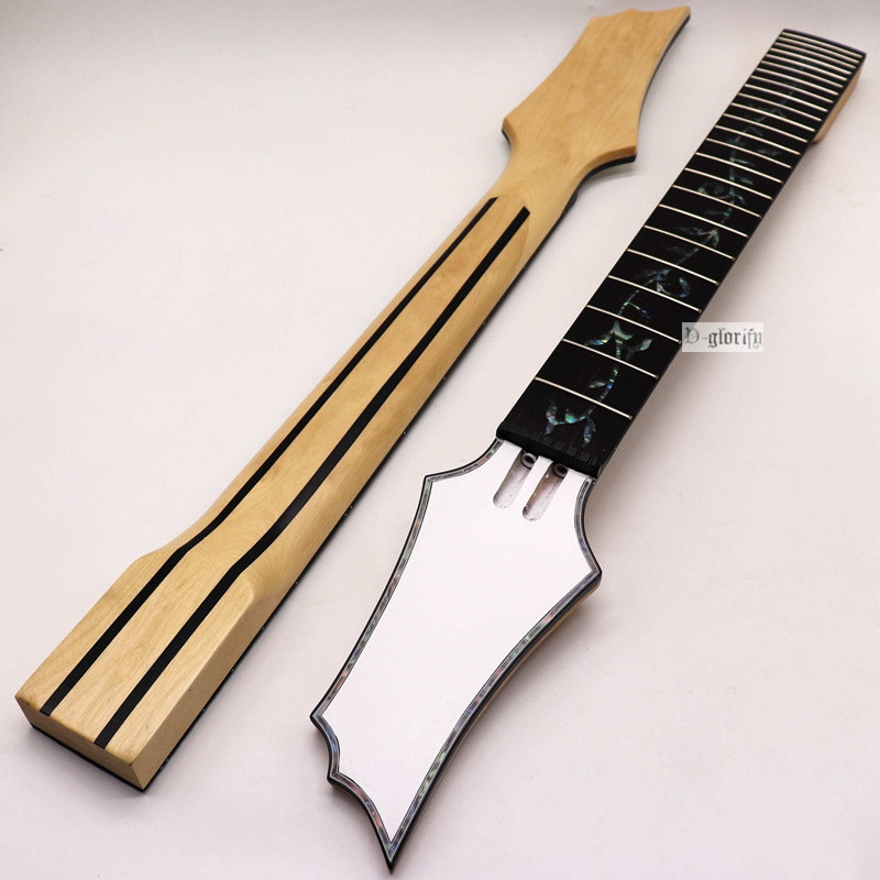 New 8 string Electric Guitar Neck Rosewood fingerboard mahogany Guitar neck assembly DIY  24 Fret Guitar accessories part 22 frets maple guitar neck rosewood fingerboard neck for fender tele replacement guitar accessories parts right handed players