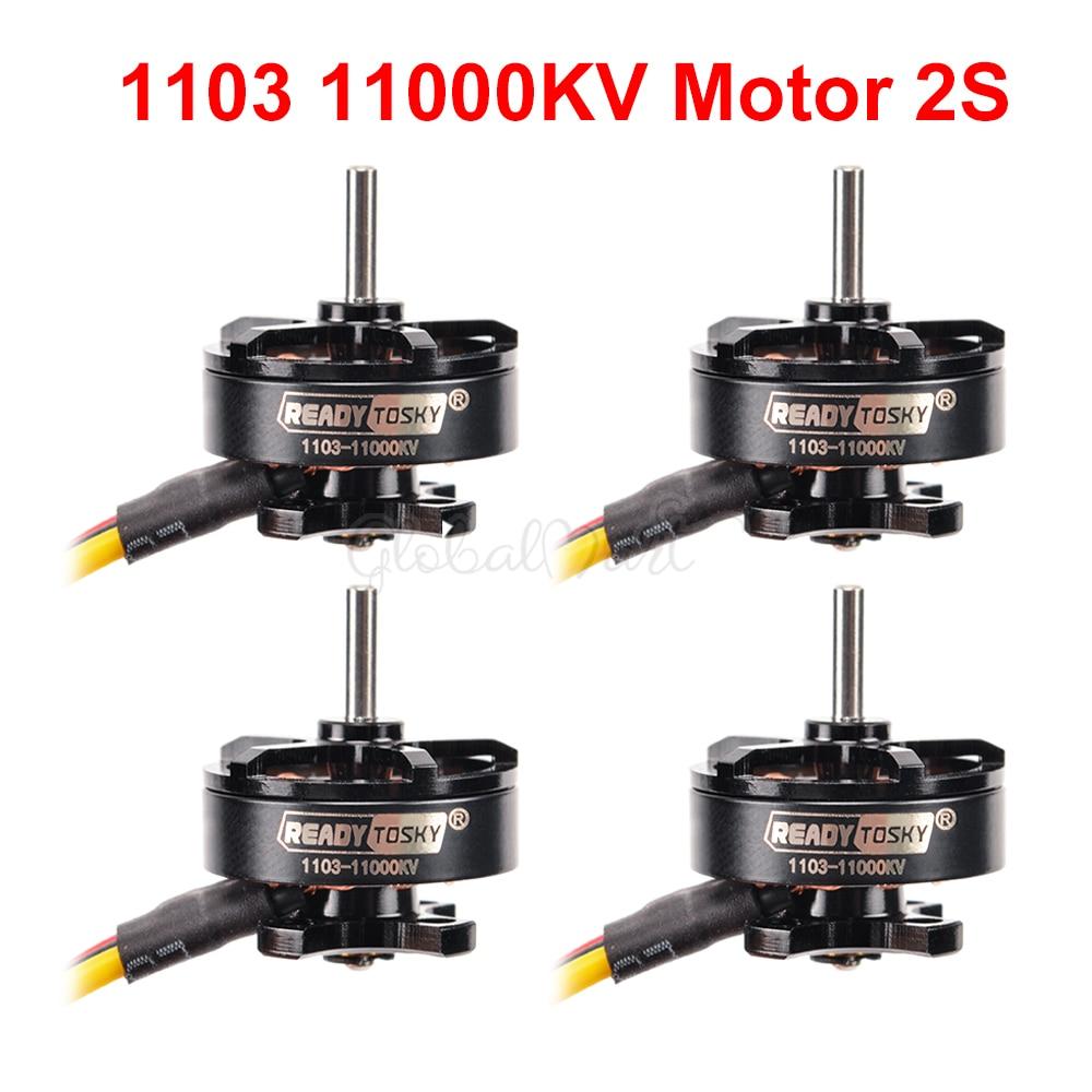 D1103 1103 11000kv 2S Mini Motor sin escobillas para RC Micro 80mm 90mm X95 Multirotor Drone