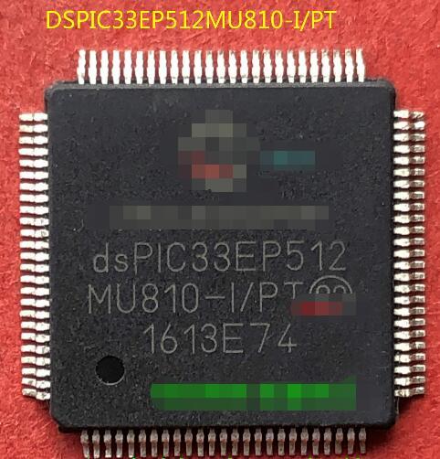 100% جديد شحن مجاني DSPIC33EP512MU810-I/PT QFP100