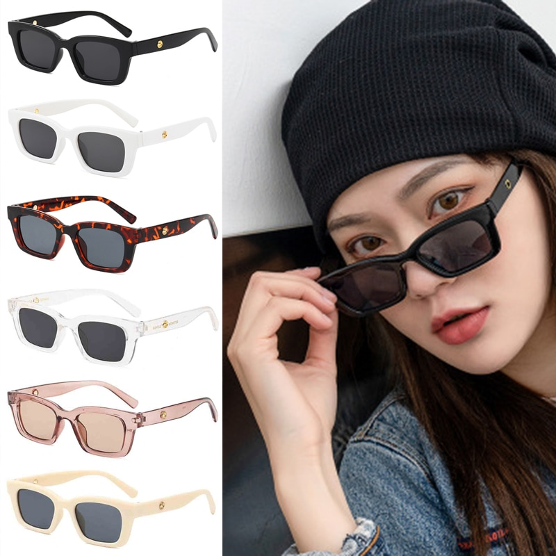 Square Cat Eye Sunglasses Sexy Vintage Men Women Famous Brand Designer Fashion Cateye Sun Glasses UV