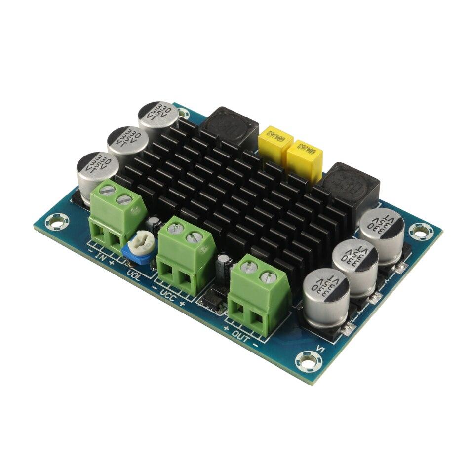 AMPLIFICADOR DE POTENCIA DE Audio Digital de alta potencia de un solo canal XH-M542 TPA3116D2 amplificador de altavoz móvil 24V