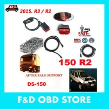 2019 son OBDII SCANNERds150 r2/r3 TCS C-DP Pro Delphis Aut0com araba/kamyon araba teşhis araçları OBD2 OBD 2 OBD II tarayıcı