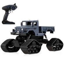 ZG-C1231WS RC Car 1/12 2.4G 4WD Off-road RTR RC Military Car Electric Snow Rock Crawler Truck SUV RC Toys