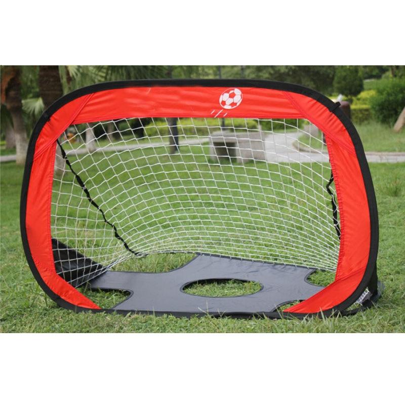 MAICCA New Soccer Net Goal Gate Folding Small Children Wire Frame Door Portable Training Equipment Wholesale