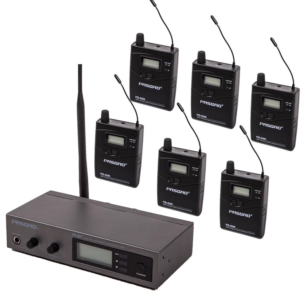 Pasgao-نظام مراقبة احترافي داخل الأذن ، نظام تحديد ، تركيز ، نظام ستيريو لمراقبة الأذن