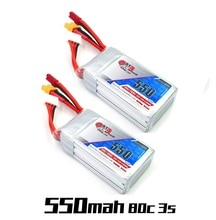 Gaoneng GNB 11,1 V 550mAh 80C 3S Lipo batterie/ladegerät JST /XT30 Stecker für Lizard95 Torrent 110 FPV Racing Drone