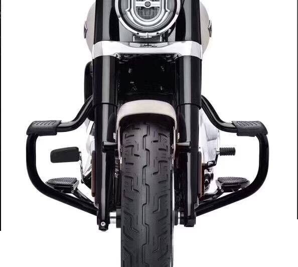 Parachoques de motocicleta para harley-davidson Softail Fat Boy bajo RIDER Deluxe escape 2018 2019 Barra de choque de protección contra caídas