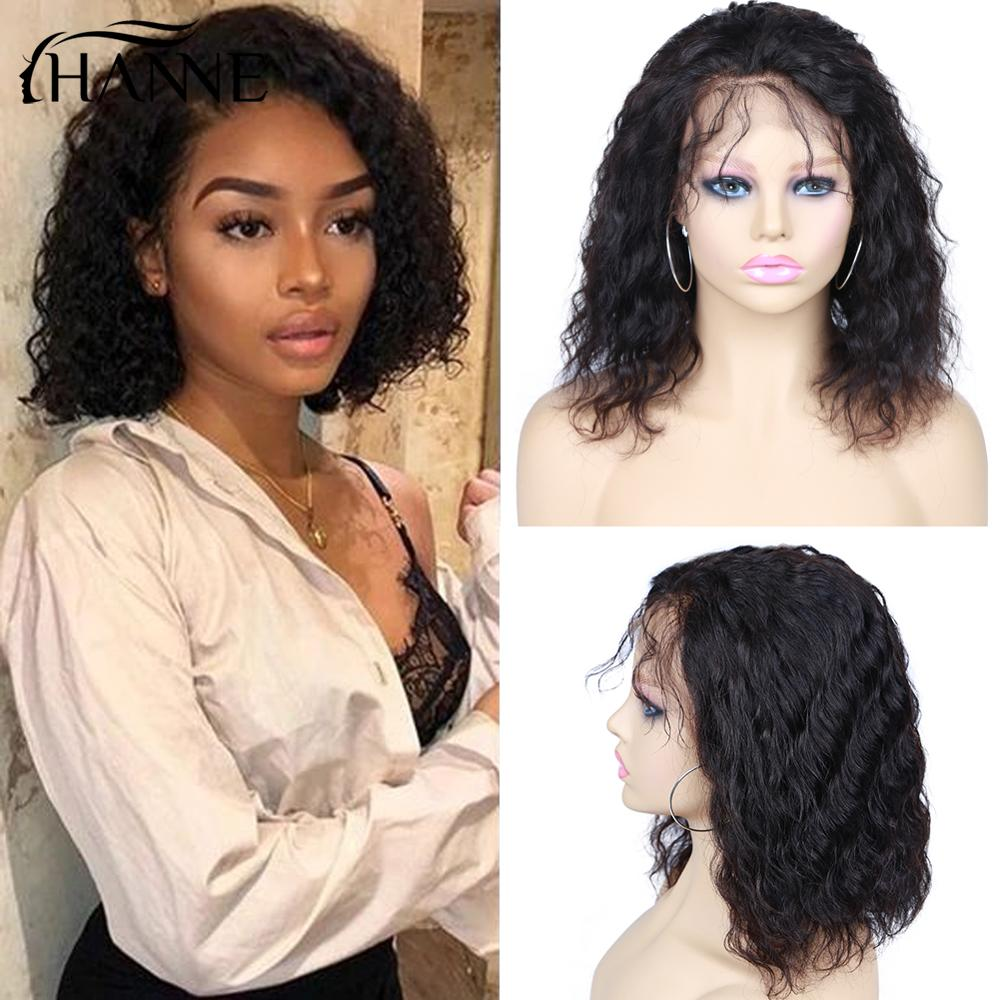 wignee natural wave lace front short human hair wigs for black women 150% density remy hair ombre green pink 613 swiss human wig Short Bob Lace Front Wig Natural Wave Human Hair Wigs For Black Women 150% Density Remy Wavy Wigs Glueless Natural Black HANNE