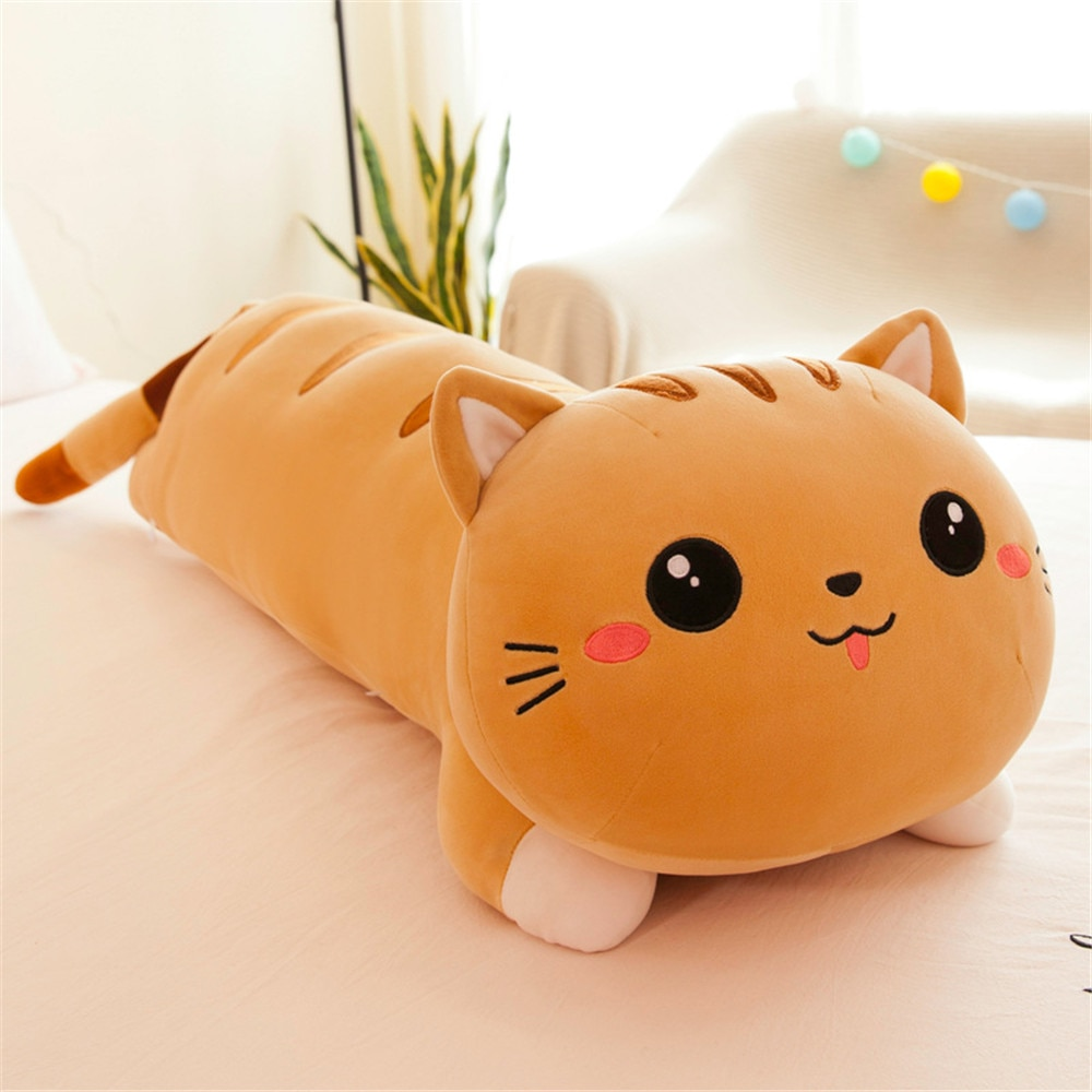 Soft Plush Cat Toy Children Birthday Christmas Gift Stuffed Toy Cute Animal Funny Lovely Cats Plush Toy For Kids Adult  - buy with discount