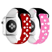 cartoon strap for apple watch band 40mm 44mm printing silicone belt watchband bracelet for iwatch series 6 se 5 4 3 accessories