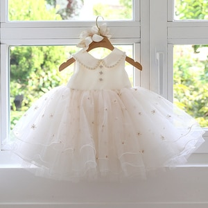 Birthday Dress for Baby Toddler Newborn Birthday Party Princess Dresses Beads Lace Baby Girls Outfit Baptism Christmas Costumes