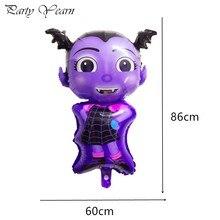Ballons ballons pour fille Vampire 1 pièce   Ballons jouets pour enfants pour fête dhalloween Vampirina, décoration en ballon en Aluminium, fournitures de fête pour enfants