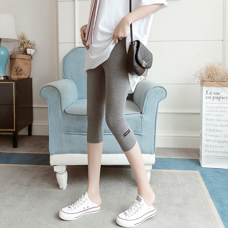 Women Pregnant Leggings Pants Yoga Shorts Fitness High Waist Slim Maternity Dress Leggings Woman Pregnancy Clothes Trousers