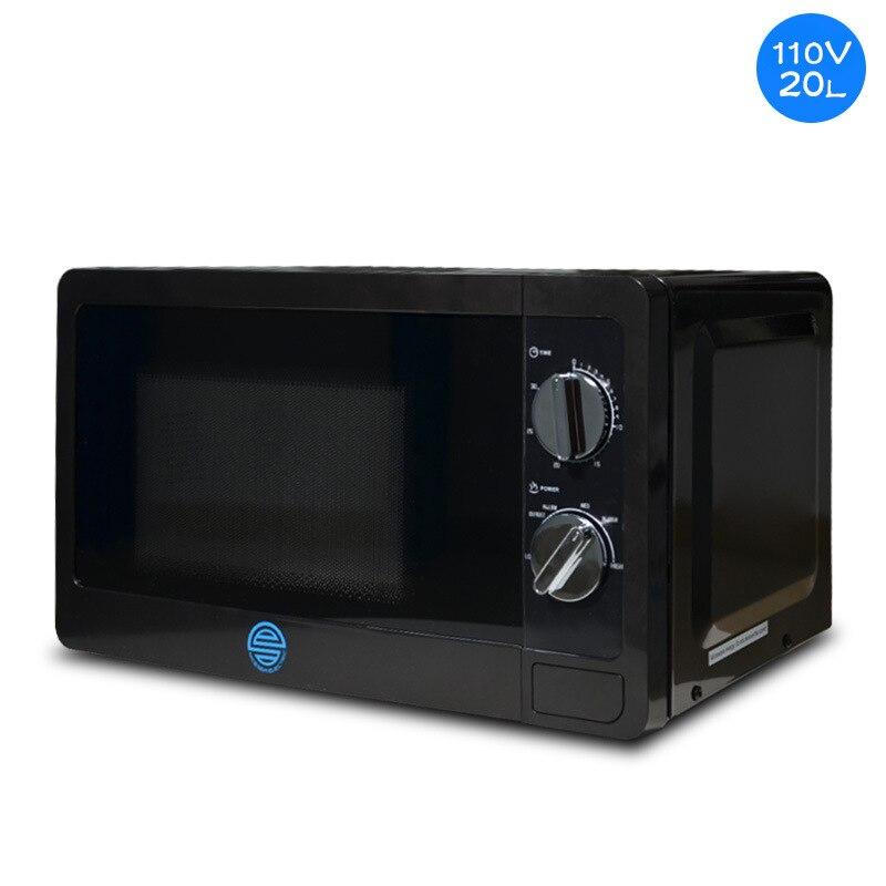 110V horno microondas 20L plataforma giratoria Marina Comercial/hogar 60HZ horno microondas alta potencia ajustable
