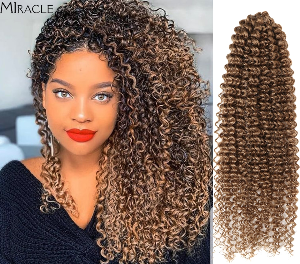 Miracle Brown Crochet Braids Hair 85g/pc Synthetic 19