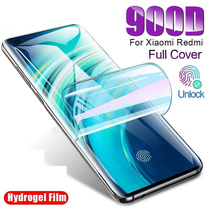 Hydrogel Film Screen Protector For Xiaomi Mi 8 9 10 SE A2 A3 Lite 9T Poco X3 Mi Note 8 10 Ultra Pro Film Not Glass