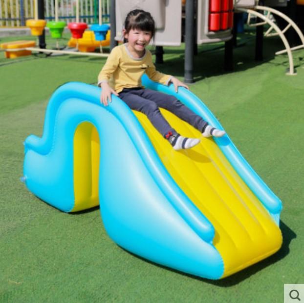 Doki Inflatable Slide With Indoor Swimming Pool Children Paradise бассейн Amusement Facilities Naughty Castle Children недорого
