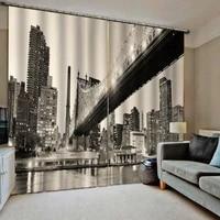 3d curtain luxury blackout window curtain living room night curtains building curtain