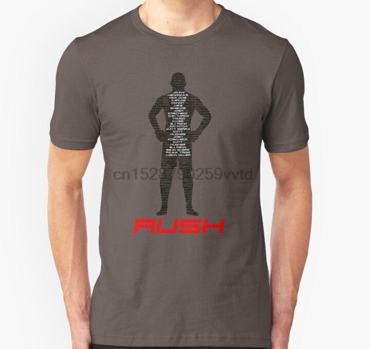 Männer t-shirt GEORGES RUSH ST. PIERRE Unisex T Shirt frauen T-Shirt tees top