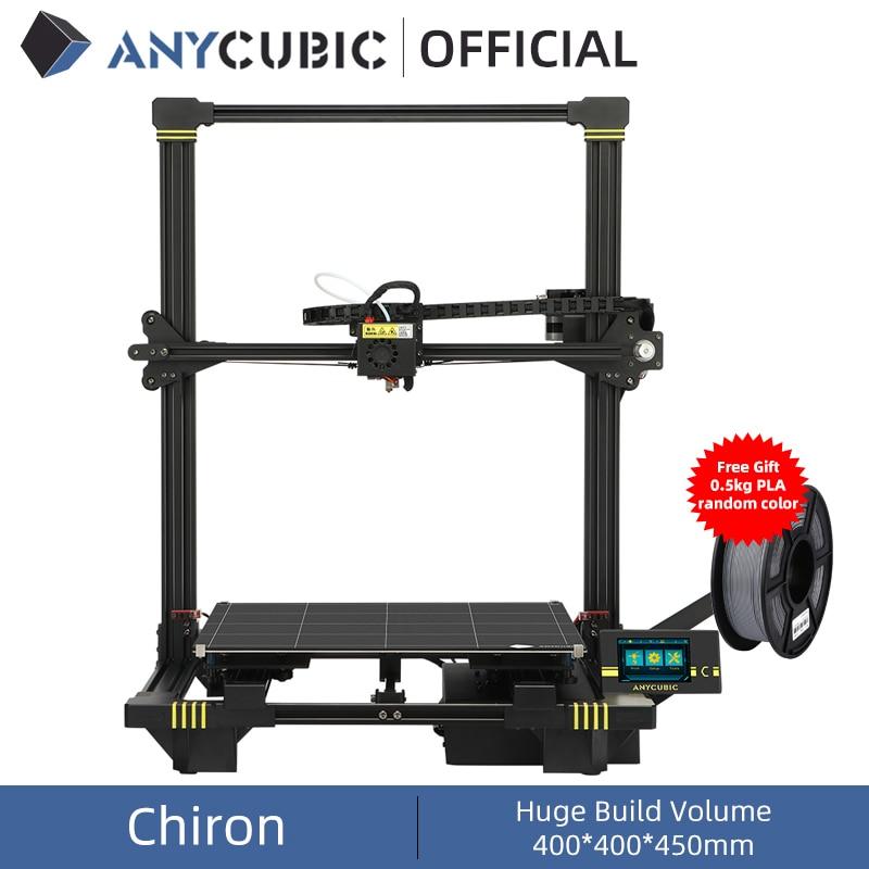طابعة ANYCUBIC Chiron ثلاثية الأبعاد, تلقائية التسوية ، إمبريسورا ، ثلاثية الأبعاد ، طابعة ، طقم طباعة Drucker ثلاثية الأبعاد